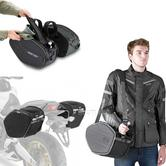 Givi EA101B|Motorcycle Expandable Pannier/Saddle/Side/Luggage Easy-T Soft Bags|30Ltr
