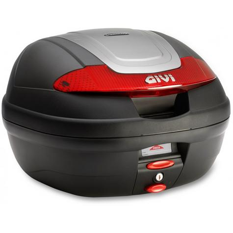 Givi E340N|Monolock Motorcycle Scooter Top Box-Luggage Case|With Universal Plate?34Ltr Thumbnail 2