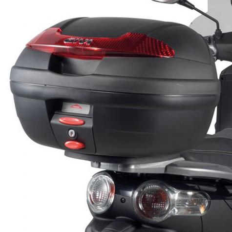 Givi E340N|Monolock Motorcycle Scooter Top Box-Luggage Case|With Universal Plate?34Ltr Thumbnail 3
