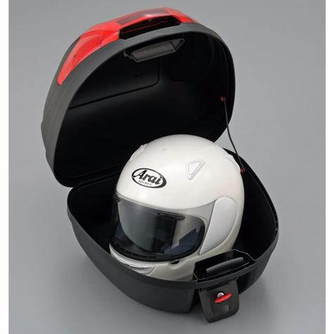 Givi E300N|Monolock Motorcycle Scooter Top Box-Luggage Case|Universal Plate|30L Thumbnail 3