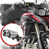 Givi Universal LED Fog Lights (14W)|Trekker Projectors Spotlights|Aluminum Body