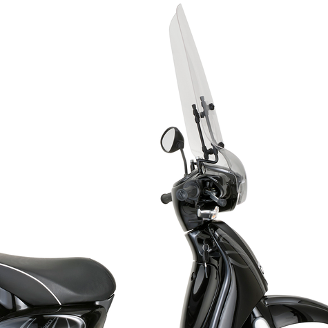 GIVI 6704A Clear Windscreen Scooter Front Glass 56x66cm For Aprilia Scarabeo 50 Thumbnail 2