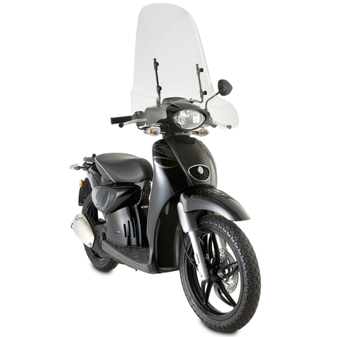 GIVI 6704A|Clear Windscreen|Scooter Front Glass|56x66cm|For Aprilia Scarabeo 50 Thumbnail 3
