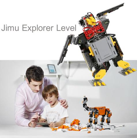 Ubtech Jimu Explorer Level|Robotics Building Kit|Programmable Remote Control|Smart Kid's Toy Game Thumbnail 1