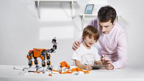 Ubtech Jimu Explorer Level|Robotics Building Kit|Programmable Remote Control|Smart Kid's Toy Game Thumbnail 8