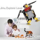 Ubtech Jimu Explorer Level|Robotics Building Kit|Programmable Remote Control|Smart Kid's Toy Game
