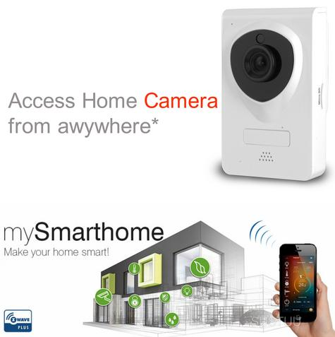 Hauppauge 1565|Wireless HD Wi-Fi  Security Camera|Night Vision|See on Smartphone Thumbnail 1