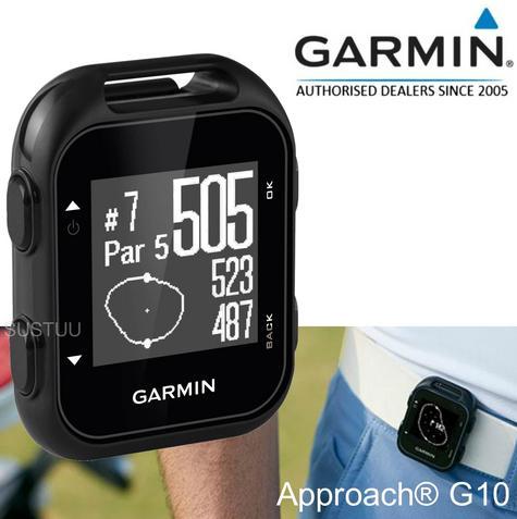 Garmin Approach G10|Golf GPS Clip On Rangerfinder|41000 Pre-Loaded Courses|Black Thumbnail 1