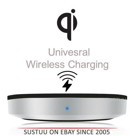 Zens Universal Wireless Charging Pad/Dock|For Qi Enabled SmartPhones [See Details] Thumbnail 1