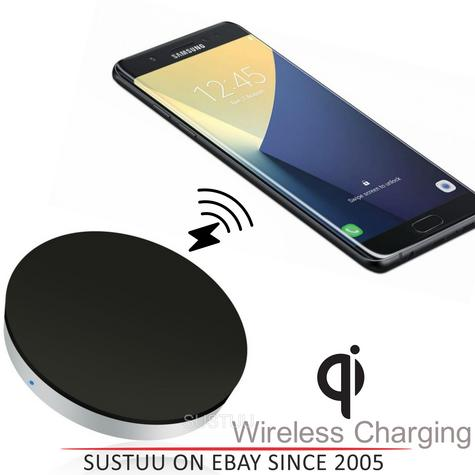Zens Wireless Charging Pad/Dock|Qi Enabled SmartPhones|Samsung Galaxy Note8 S8 S8+ Thumbnail 1