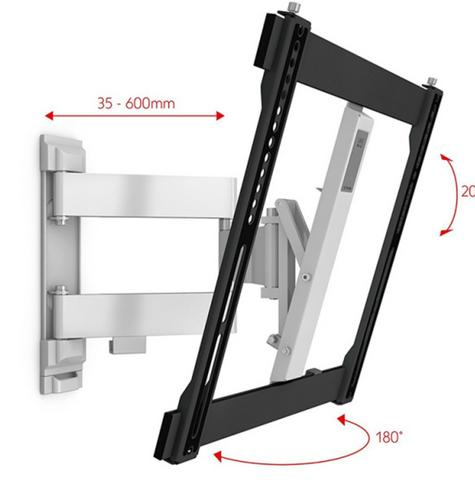 One For All WM6451|TV Bracket|Wall Mount|32-60 inch|Turn 180|Ultra Slim Series| Thumbnail 2