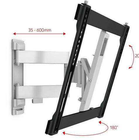 One For All WM6451|TV Bracket|Wall Mount|32-60 inch|Turn 180|Ultra Slim Series| Thumbnail 2