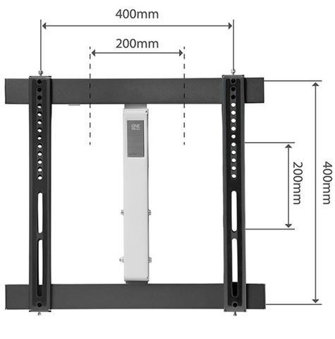 One For All WM6451|TV Bracket|Wall Mount|32-60 inch|Turn 180|Ultra Slim Series| Thumbnail 3