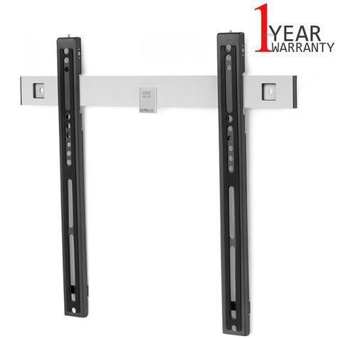 One For All WM6411 TV Bracket|Flat|Ultra Slim Series|32-60 inch|Auto Lock|New| Thumbnail 1