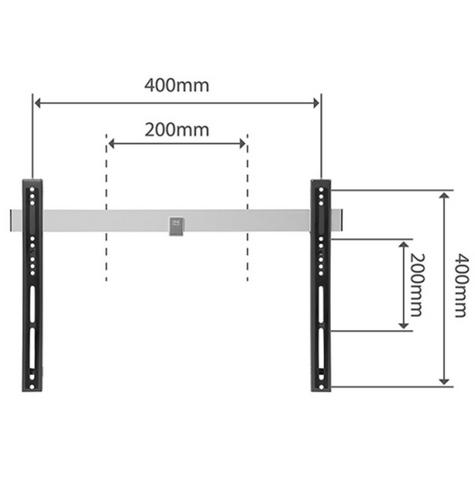 One For All WM6411 TV Bracket|Flat|Ultra Slim Series|32-60 inch|Auto Lock|New| Thumbnail 2