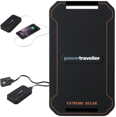 PTL-EXT001 Powertraveller Extreme Waterproof Rugged Solar Powered Charger  Thumbnail 1