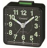 Casio TQ-140-1EF Beep Alarm Clock|NeoDisplay|White Number|Resin Case|Alarm|Black
