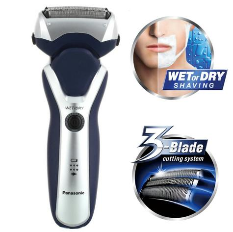 Panasonic New ESRT37S Men's Electric Hair Shaver|Wet/Dry|Dual Voltage|3 Blades|   Thumbnail 1