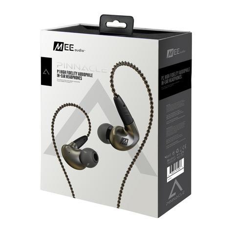 MEE Audio Pinnacle P1 High Fidelity Audiophile In-Ear Headphones + MMCX Cable  Thumbnail 4