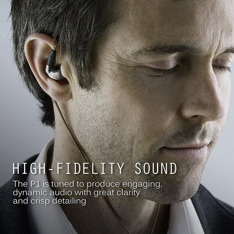 MEE Audio Pinnacle P1 High Fidelity Audiophile In-Ear Headphones + MMCX Cable  Thumbnail 8