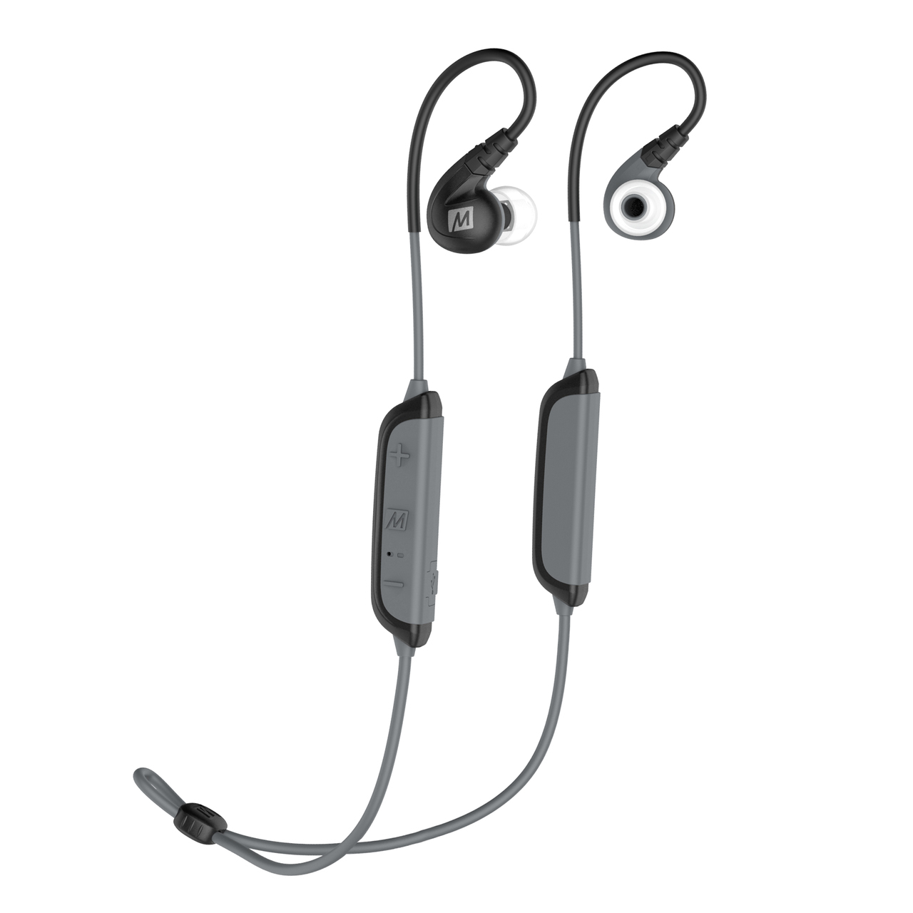 MEE Audio X8 Bluetooth Sport In-Ear Headphone / Microphone / Dual Battery / Black/Grey
