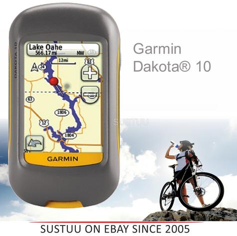 Garmin Dakota 10|Outdoor GPS Handheld Navigator|IPX7 Touchscreen|*Worldwide Basemaps Thumbnail 1