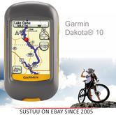 Garmin Dakota 10|Outdoor GPS Handheld Navigator|IPX7 Touchscreen|*Worldwide Basemaps