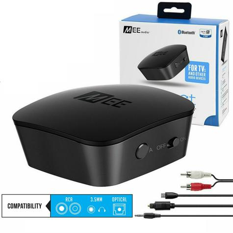 MEE Audio Connect Bluetooth-Wireless-Audio Transmitter for TV?Dual Headphone?NEW Thumbnail 1