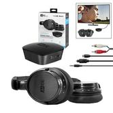 MEE Audio Bluetooth Wireless Headphone + Transmitter Set for TV?Dual Channel?NEW