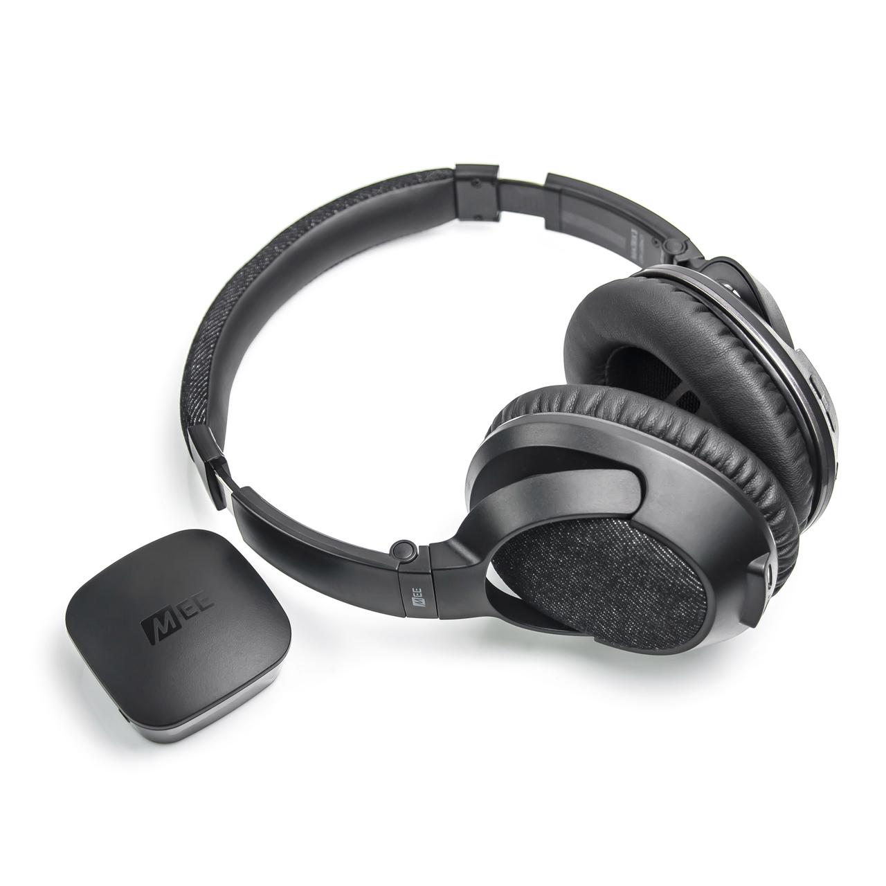 MEE Audio Bluetooth Wireless Headphone System Matrix 3 HD Transmitter TV Bundle