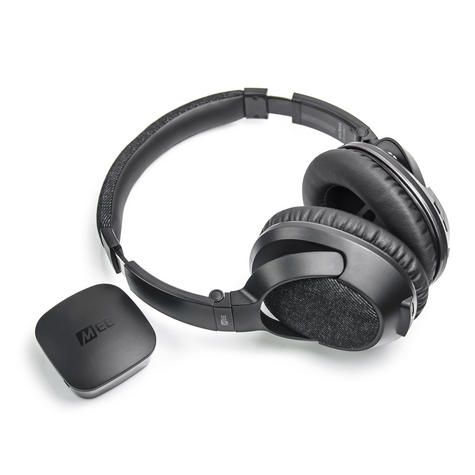 MEE Audio Bluetooth Wireless Headphone System Matrix 3 HD Transmitter TV Bundle Thumbnail 1