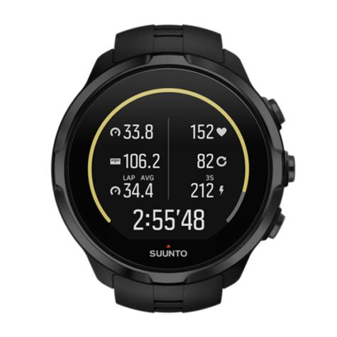 Suunto Spartan Sport Wrist HR All Black Heart Rate GPS Compass Fitness Watch Thumbnail 3