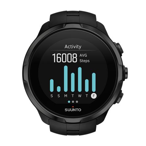 Suunto Spartan Sport Wrist HR All Black Heart Rate GPS Compass Fitness Watch Thumbnail 7
