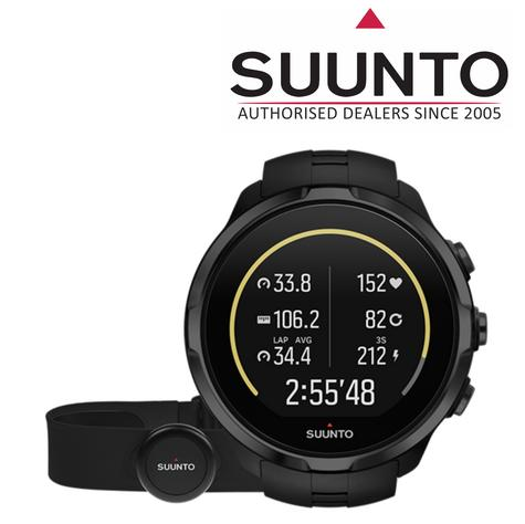 Suunto Spartan Sport Wrist HR All Black Heart Rate GPS Compass Fitness Watch Thumbnail 1