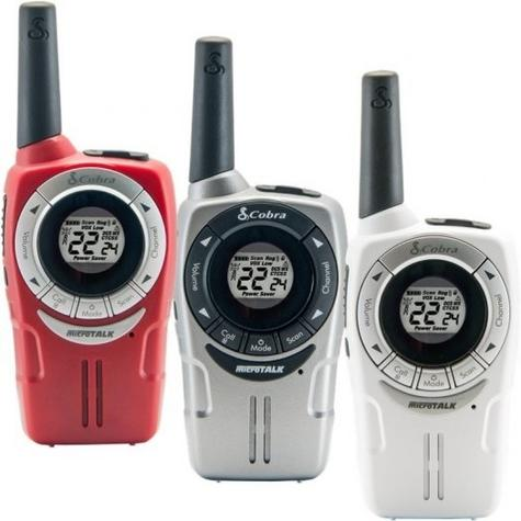 Cobra SM660|Soho Walkie Talkie 2-Way PMR Radio|8km Range|VOX 3-pack|3-Colours Thumbnail 7