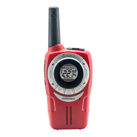 Cobra SM660|Soho Walkie Talkie 2-Way PMR Radio|8km Range|VOX 3-pack|3-Colours Thumbnail 4