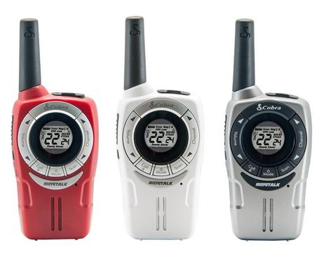 Cobra SM660|Soho Walkie Talkie 2-Way PMR Radio|8km Range|VOX 3-pack|3-Colours Thumbnail 6