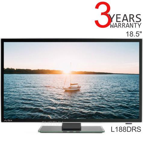 "Avtex L188DRS 18.5"" Caravan Motorhome Boats Slim HD LED TV|Freeview/SAT/DVD/REC|Black Thumbnail 1"
