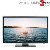 "Avtex Super Slim 18.5""  LED Television HD View Satellite Tuner CD DVD Rec-Black"