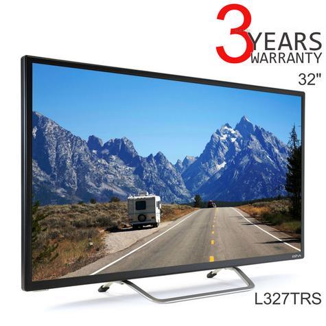 "Avtex L327TRS 32"" Caravan/Motorhome/Boats Slim HD LED Satelite TV Freeview DVBT Thumbnail 1"