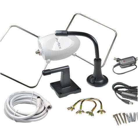 Avtex STH3000 20db Digital TV Antenna Wate & Uv Resistant Flexible 2 Way Source Thumbnail 6