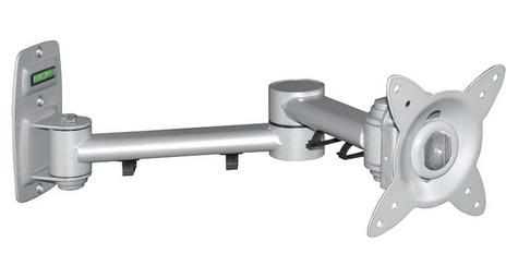 """Avtex SV9.0 Double Arm Swivel & Tilt TV Mount Adjustable 15 k For 10-23"""" LED LCD Thumbnail 1"""