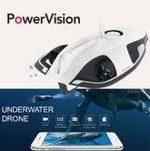 Powervision PowerRay Wizard|Underwater Robot|4K UHD Camera|5 Frame/Shoot-White