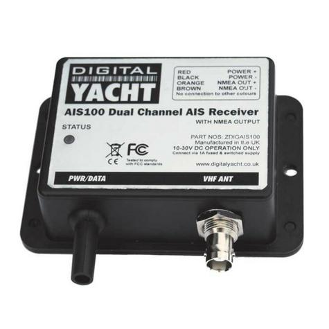 Digital Yacht-AIS100|AIS Receiver-NMEA Out|Dual-Channel|High Speed|20-20m Range Thumbnail 1