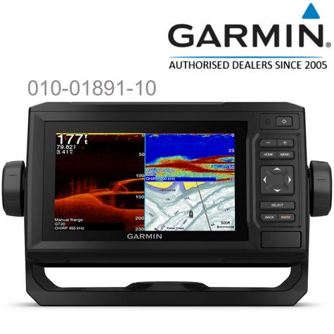 Garmin ECHOMAP Plus 65cv-6"