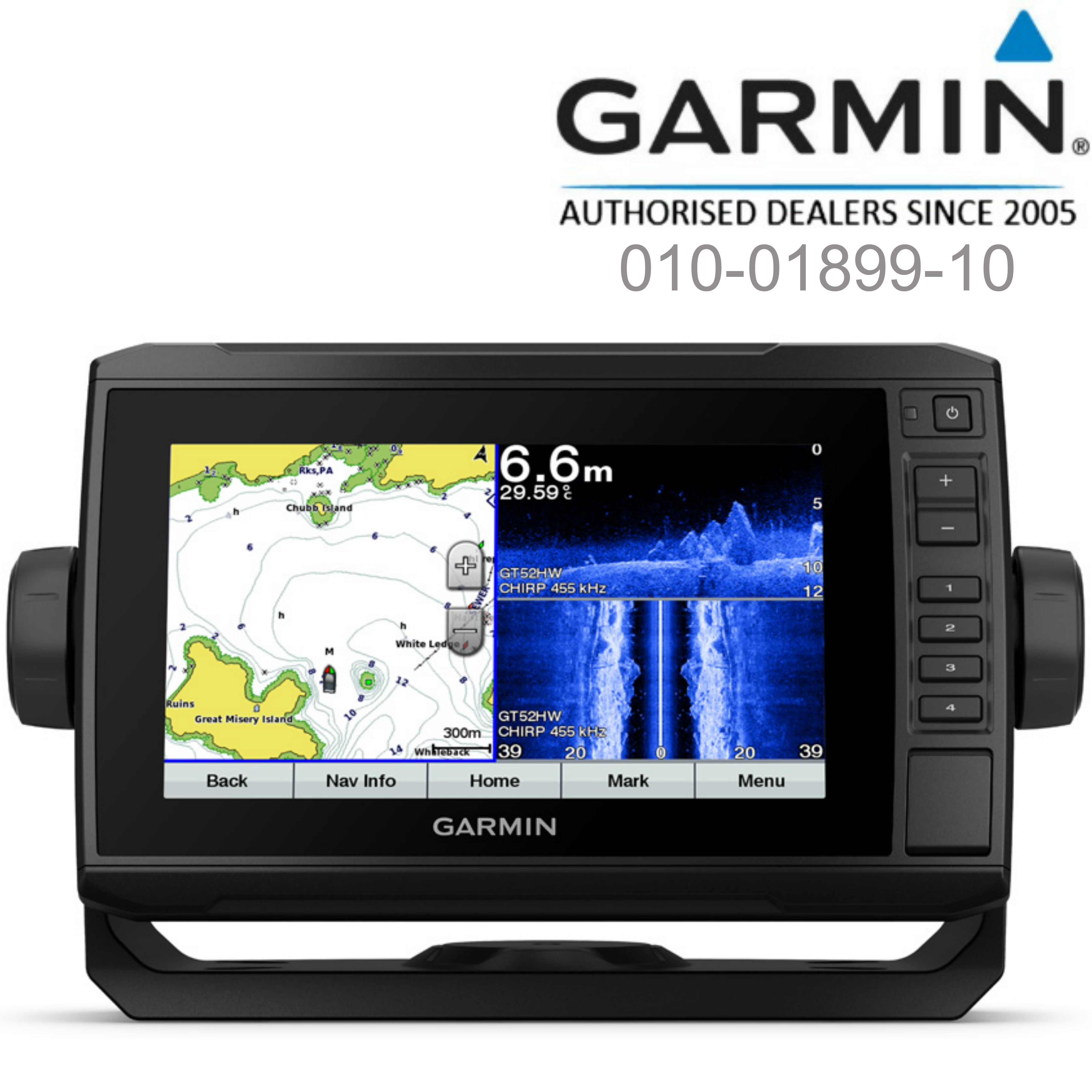 Garmin ECHOMAP Plus 75sv-7"