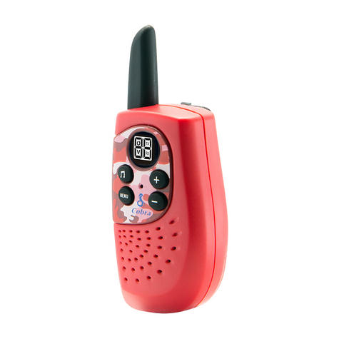 Cobra Hero Fire HM230R|2-way Private Mobile Radio-PMR|WalkieTalkie Radio|3Km|Red Thumbnail 8