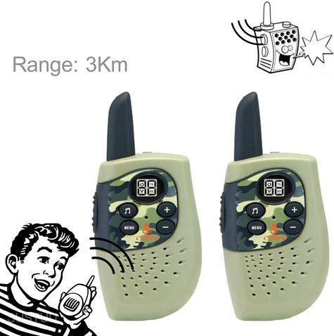 Cobra Hero Fire HM230R|2-way Private Mobile Radio-PMR|WalkieTalkie Radio|3Km|Green Thumbnail 1