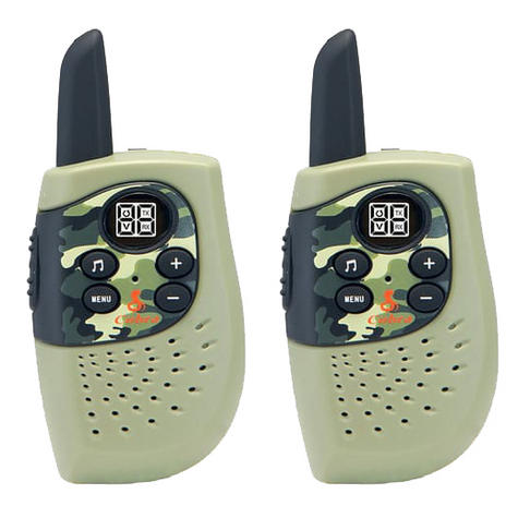 Cobra Hero Fire HM230R|2-way Private Mobile Radio-PMR|WalkieTalkie Radio|3Km|Green Thumbnail 2