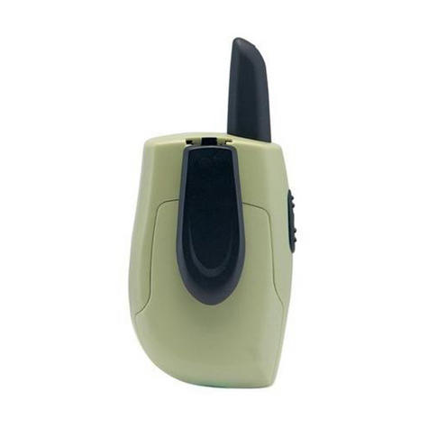 Cobra Hero Fire HM230R|2-way Private Mobile Radio-PMR|WalkieTalkie Radio|3Km|Green Thumbnail 5